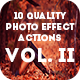 10 Quality Photo Effect Actions Photoshop Vol.2 - GraphicRiver Item for Sale