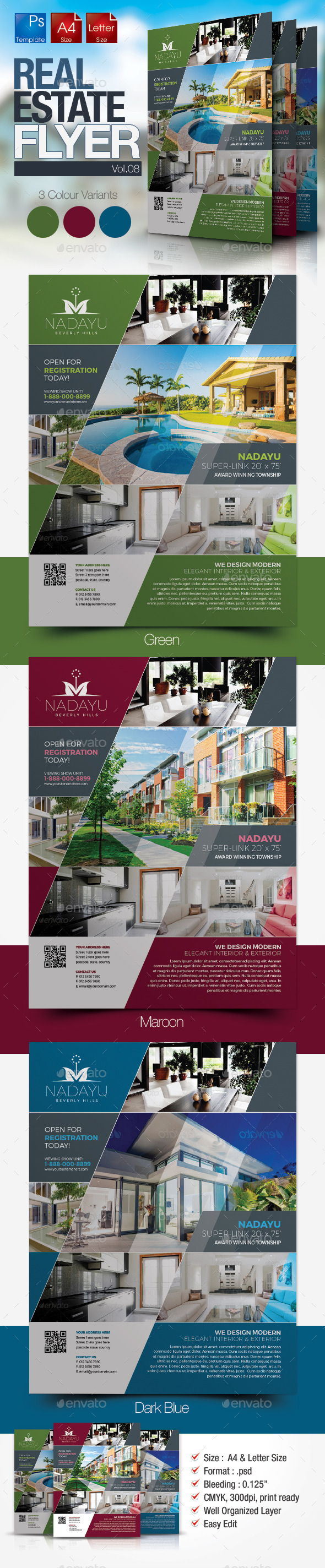 Simple Real Estate Flyer Vol.08 - Miscellaneous Events