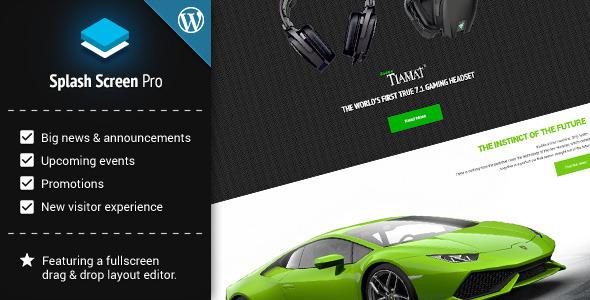 Splash Screen Pro for WordPress