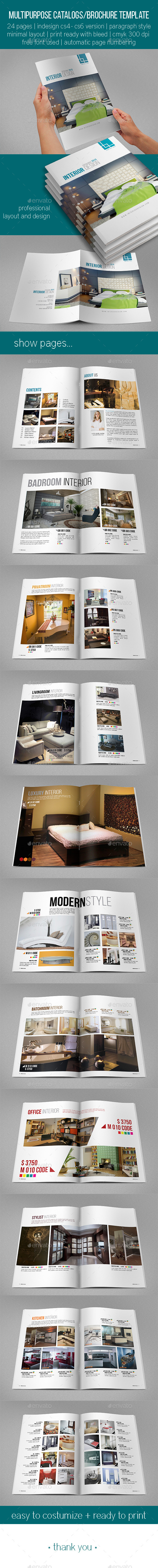 Multipurpose Catalogs / Brochure - Catalogs Brochures
