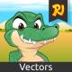Crocogator Mascot - GraphicRiver Item for Sale
