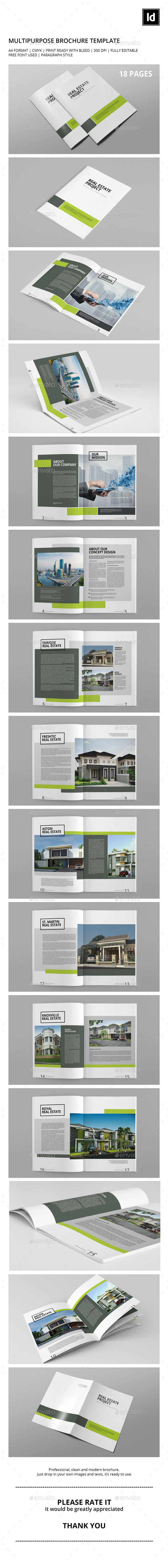 Multipurpose Brochure Template - Catalogs Brochures