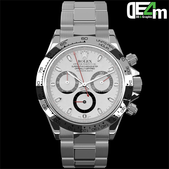 Watch Rolex Daytona - 3DOcean Item for Sale