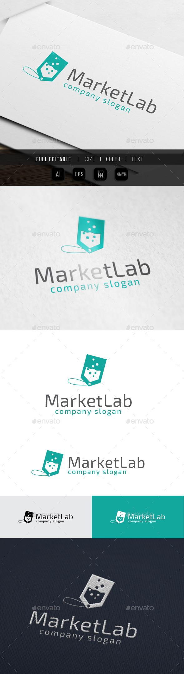 Market Lab - Bigsale - Symbols Logo Templates