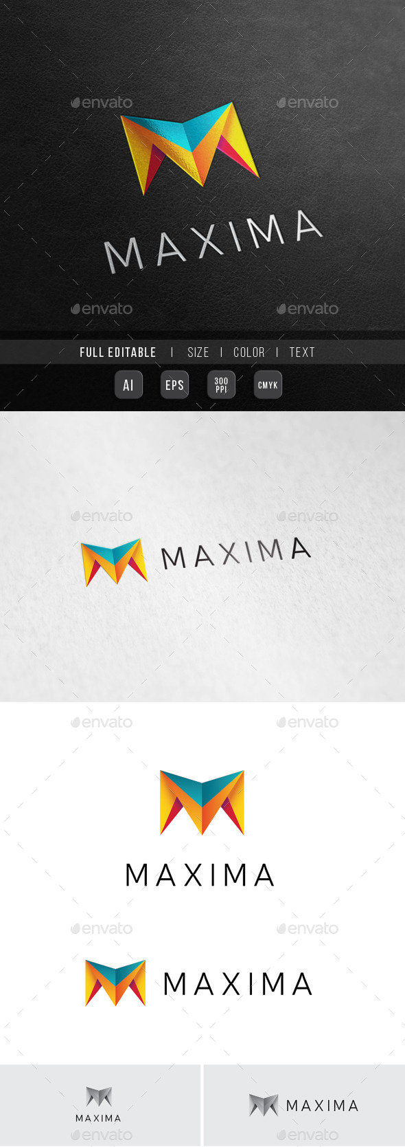 Multimedia Studio - M Letter - Letters Logo Templates