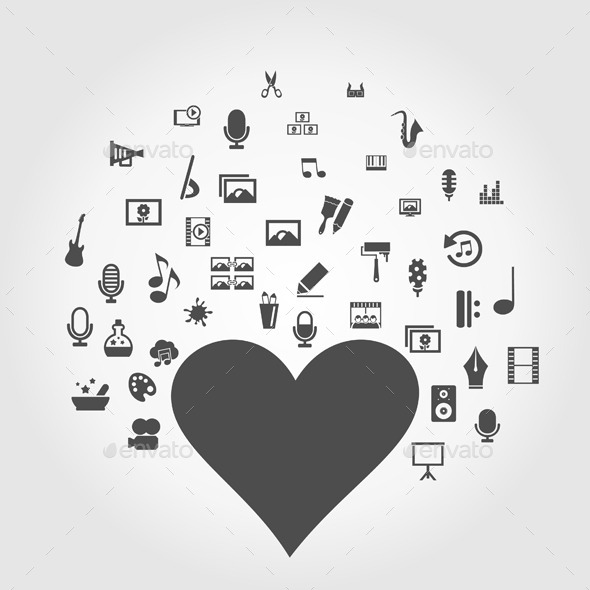 Art Heart - Miscellaneous Vectors