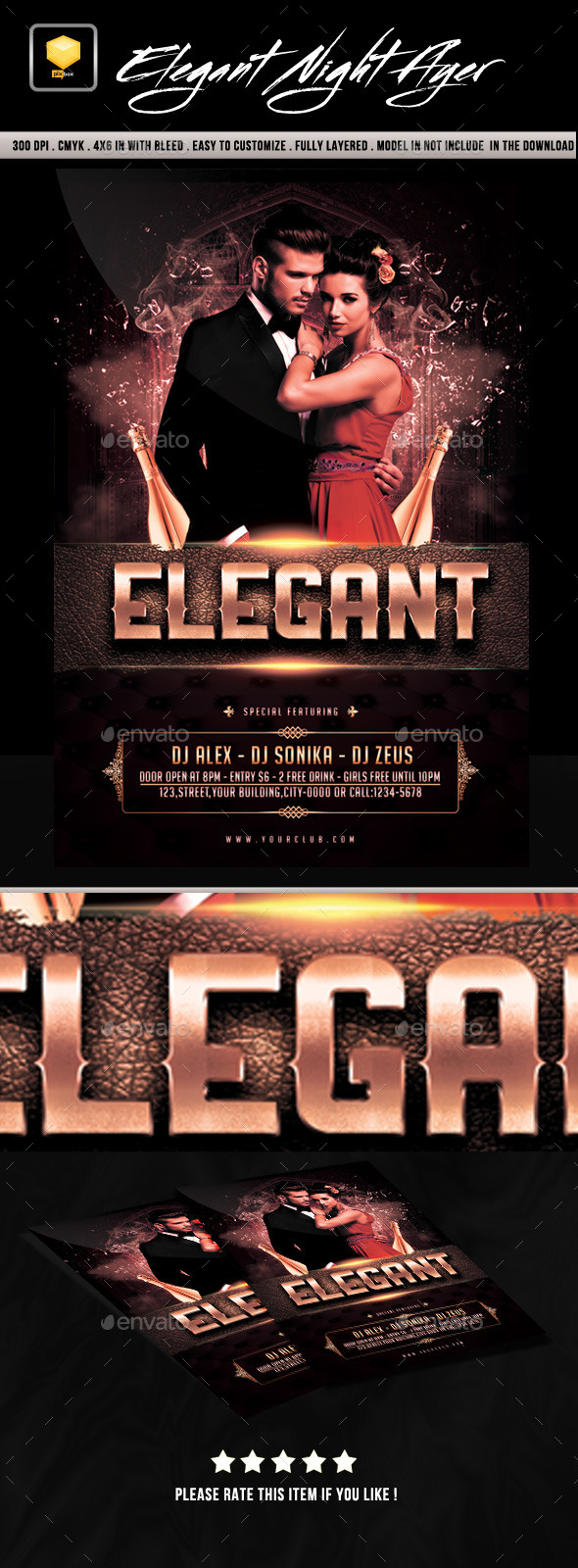 Elegant Night Party - Clubs & Parties Events