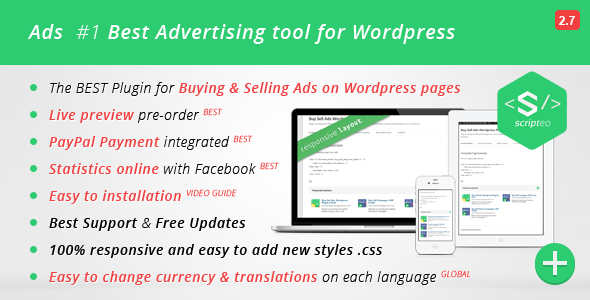 ADS - Modern WordPress Ad Plugin - CodeCanyon Item for Sale