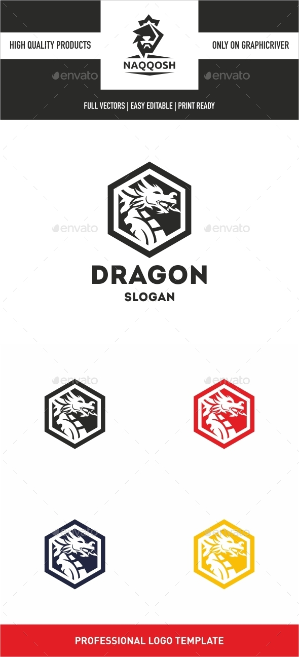 Dragon Logo - Logo Templates