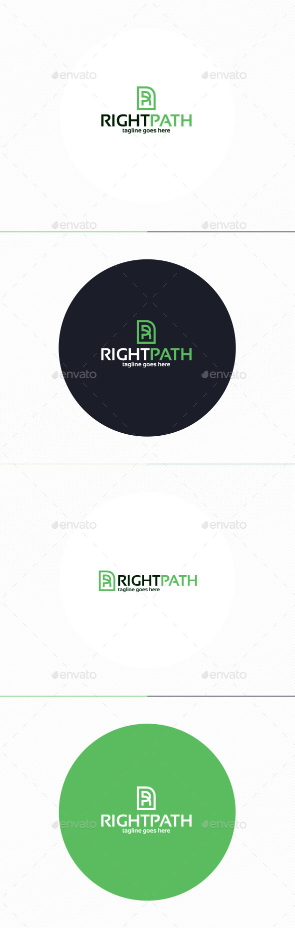 Right Path Logo • Letter R - Letters Logo Templates
