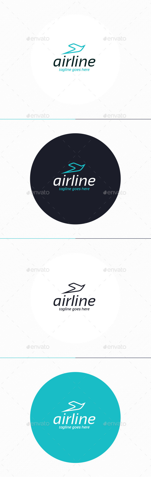 Air Line Logo - Animals Logo Templates