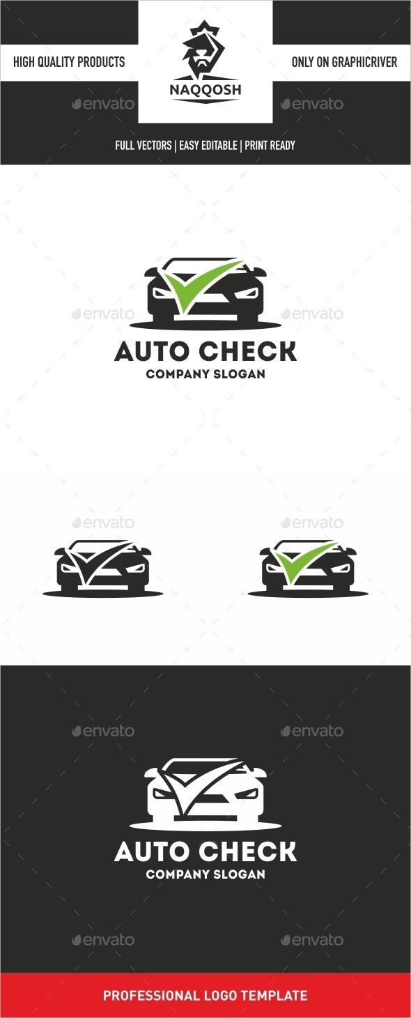 Auto Check Logo - Logo Templates