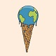 Earth Cream Cone - GraphicRiver Item for Sale
