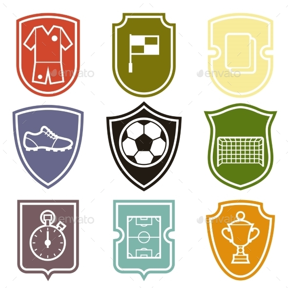 Set of Sports Labels - Sports/Activity Conceptual