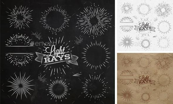 Light Ray Chalk - Retro Technology
