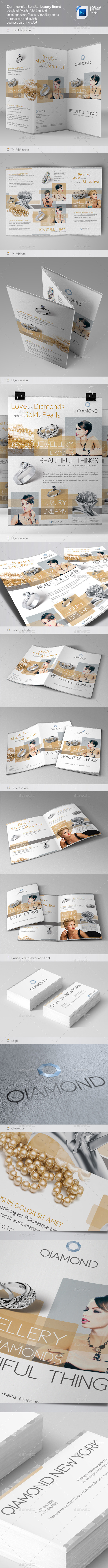 Commercial Flyer Bundle 1: Luxury Items - Commerce Flyers