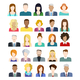 Set of People Icons - GraphicRiver Item for Sale