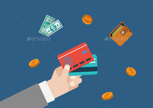 Credit Card Finance Money - Concepts Business