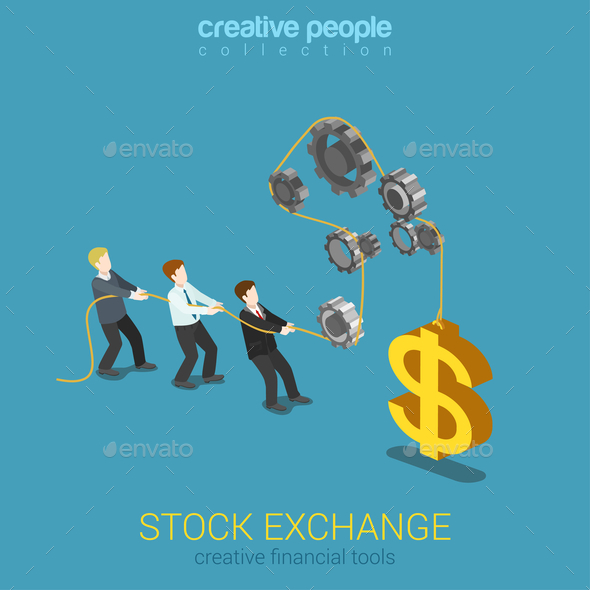 Stock Exchange Graphic - Concepts Business