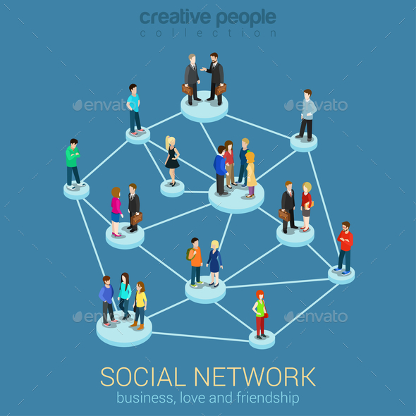 Social Network - Communications Technology