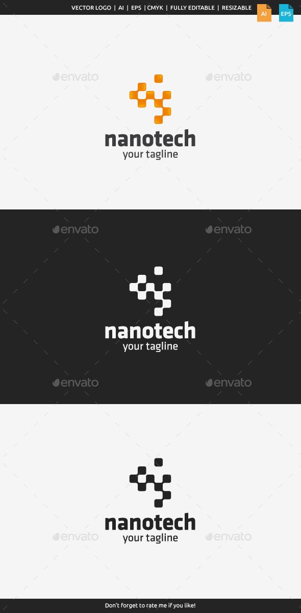 Nanotech Logo Template - Abstract Logo Templates