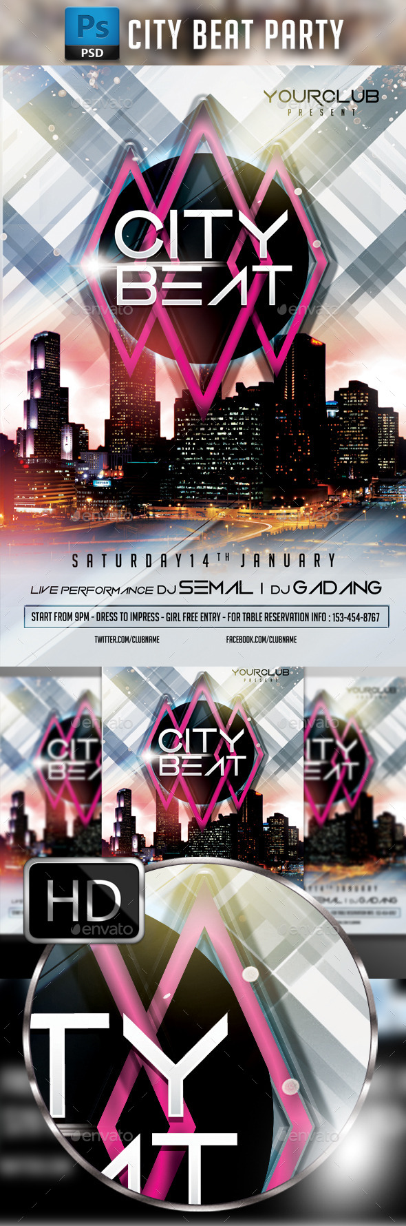 City Beat Party - Clubs & Parties Events