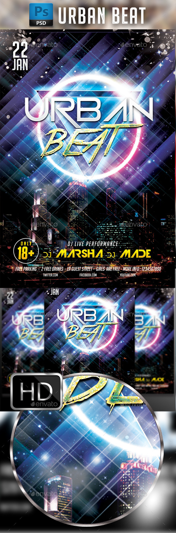 Urban Beat Party - Clubs & Parties Events