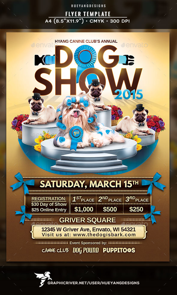 Dog Show Flyer - Events Flyers