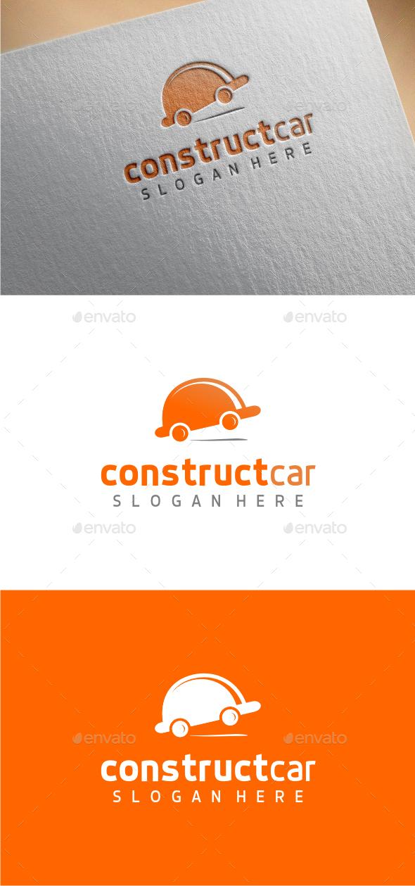 ConstructCar - Logo Template - Buildings Logo Templates