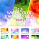 Watercolor Backgrounds Part 2 - GraphicRiver Item for Sale