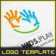 Kids Play - Logo Template - GraphicRiver Item for Sale