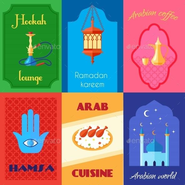Arabic Culture Poster - Miscellaneous Vectors