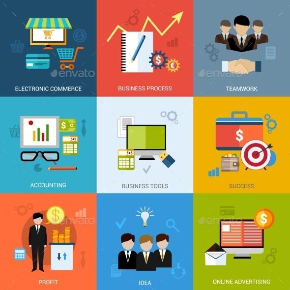 Business Concept Set - Concepts Business