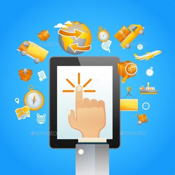 Touch Pad Logistics - Business Conceptual
