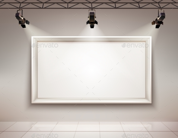 Picture Frame Illuminated - Miscellaneous Vectors