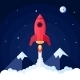 Space Rocket Poster - GraphicRiver Item for Sale