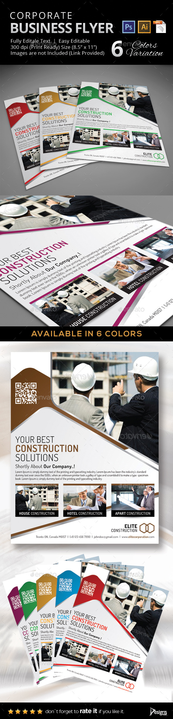 Multipurpose Business Flyer 32 - Corporate Flyers
