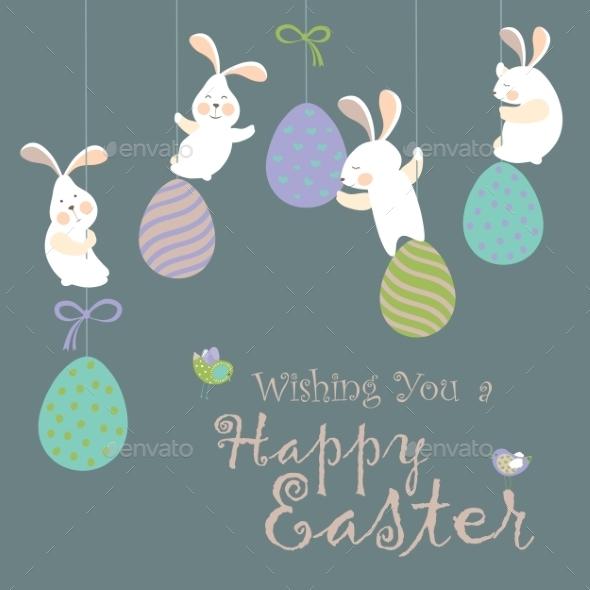 Easter Bunnies - Seasons/Holidays Conceptual