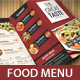 Trifold Food Menu2 - GraphicRiver Item for Sale