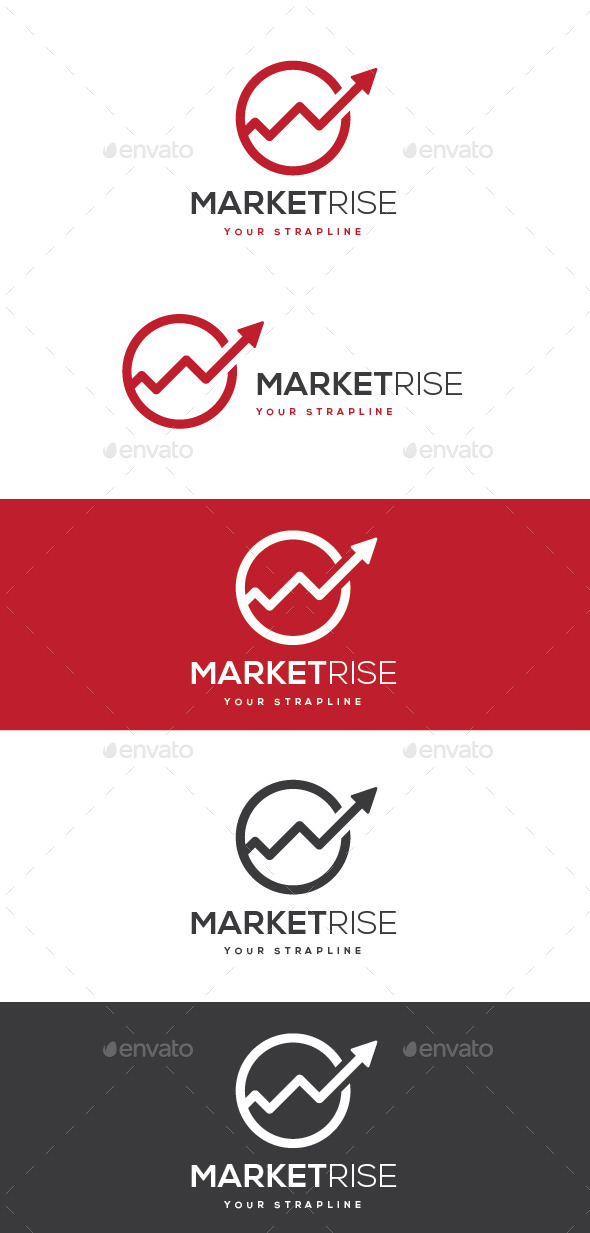 Market Rise Logo - Symbols Logo Templates