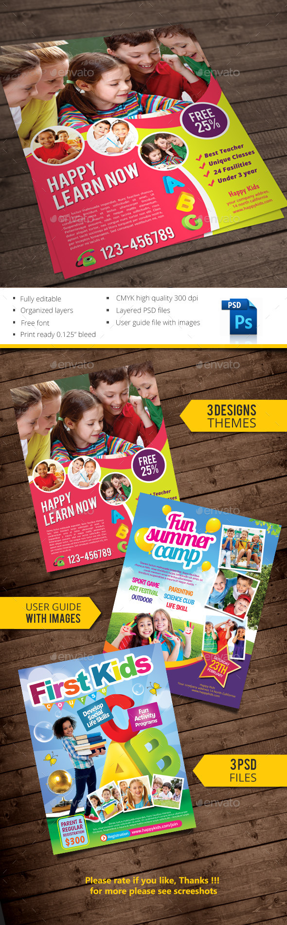 Kids - Commerce Flyers