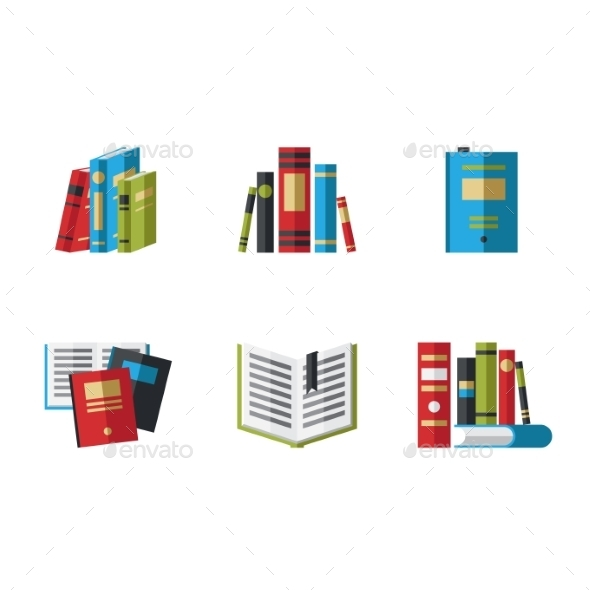 Icons Books - Web Technology