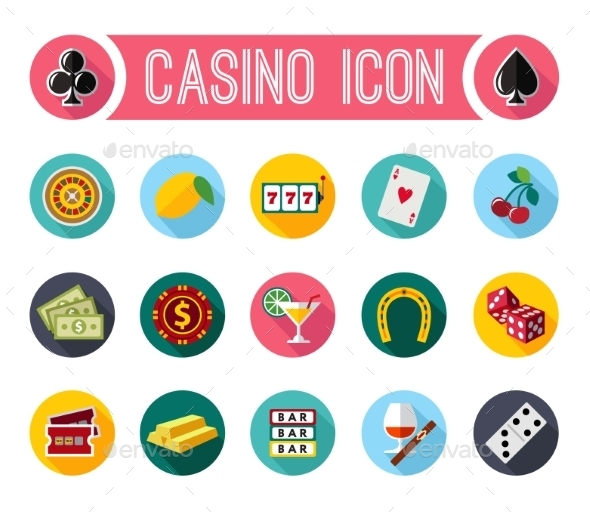 Slot Machine Symbols - Food Objects