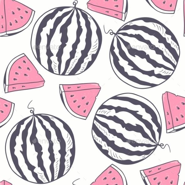 Watermelon Pattern - Patterns Decorative