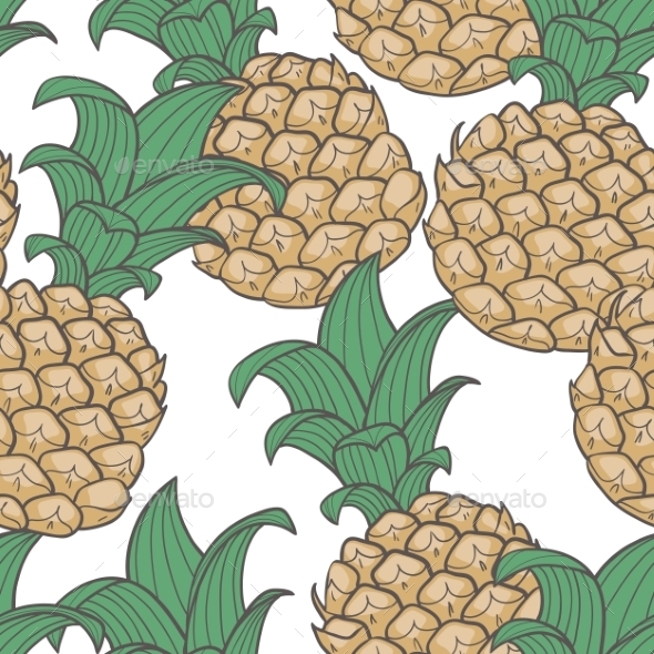 Pineapple Pattern - Patterns Decorative