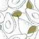 Avocado Pattern - GraphicRiver Item for Sale