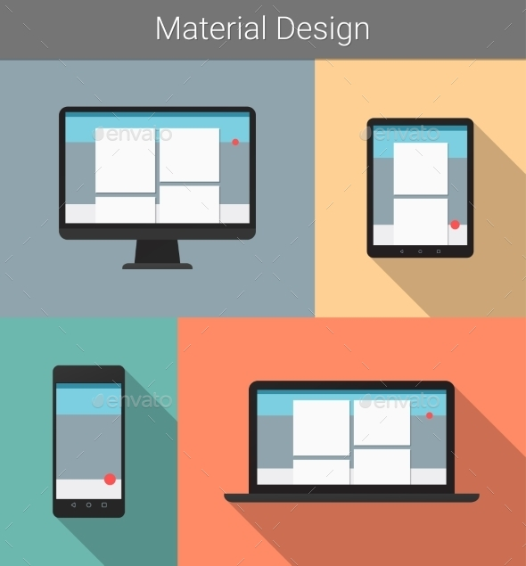 Responsive Material Design  - Computers Technology