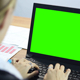 Woman Working With Laptop - VideoHive Item for Sale