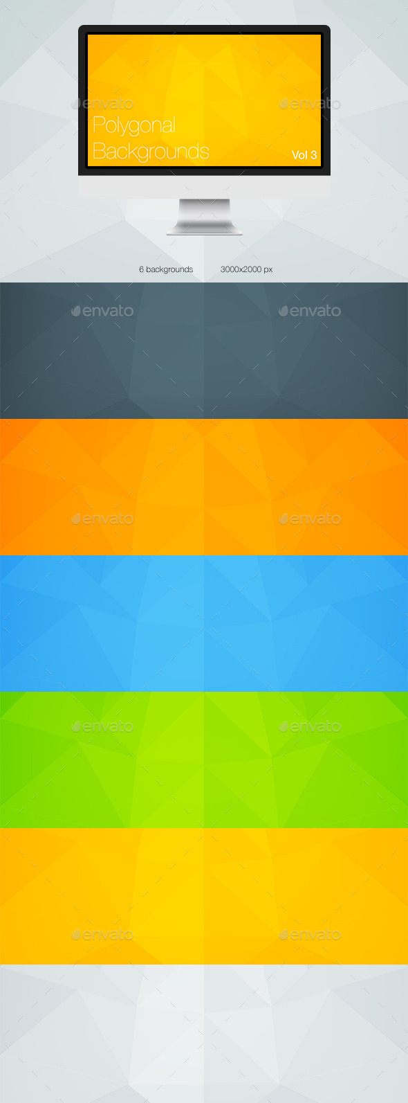 Polygonal Backgrounds Vol 3 - Abstract Backgrounds