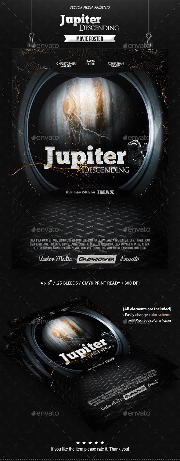 Jupiter Descending - Movie Poster - Miscellaneous Events
